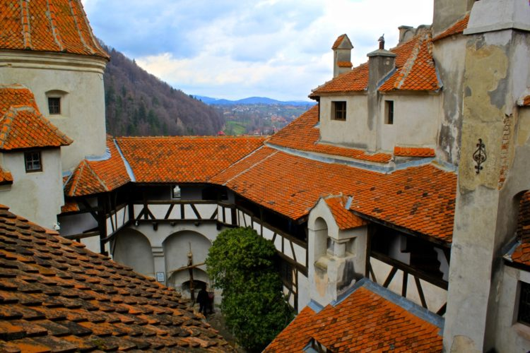 Visiting Dracula's Castle in Transylvania