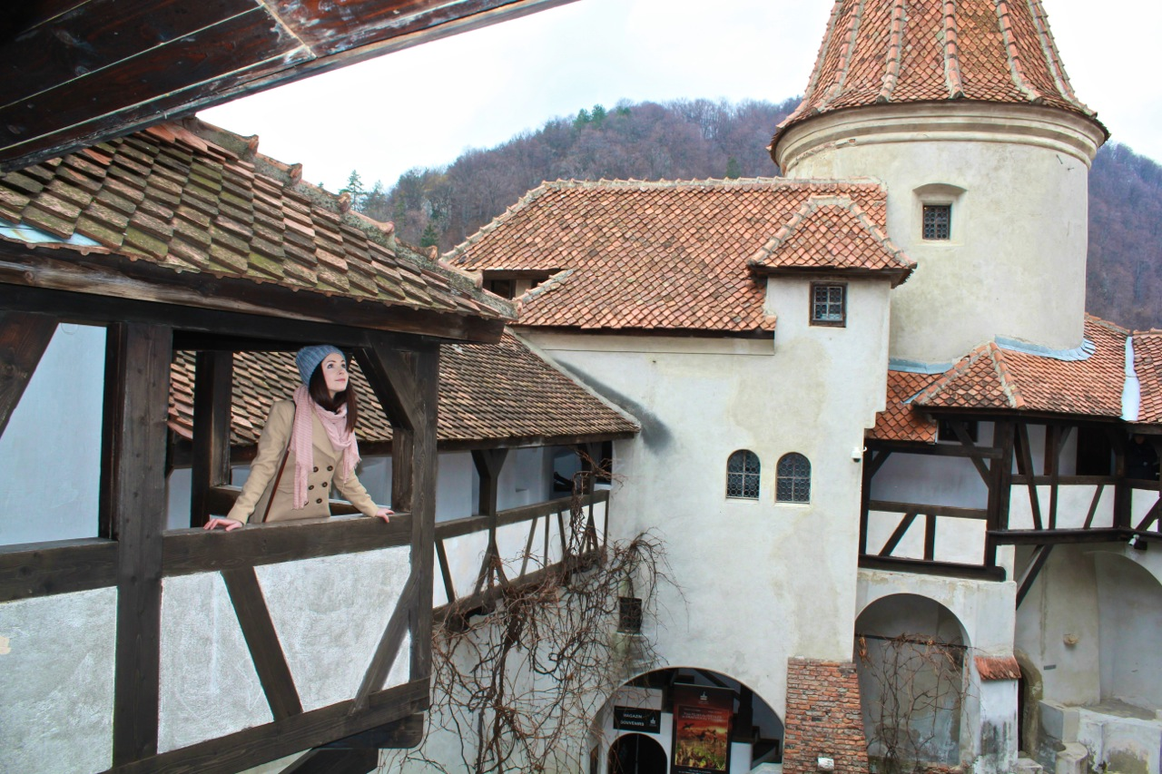 Visiting nearby Dracula's Castle