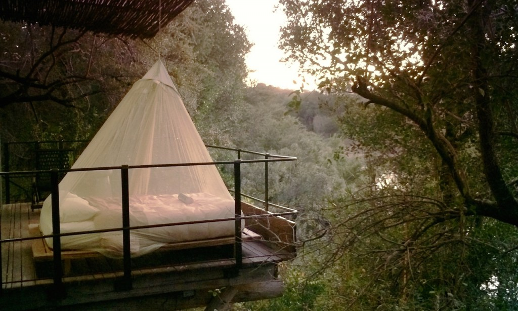 luxury treehouse hotel