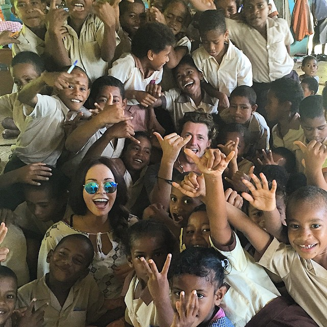 smiles in Fiji