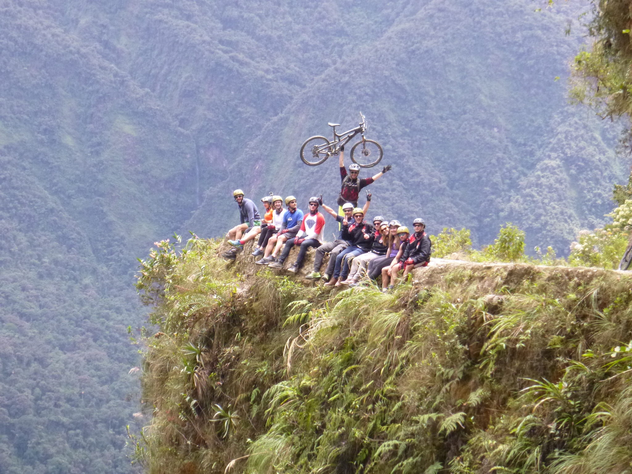 Bike Riding Death Road in Bolivia (and living to tell the tale)