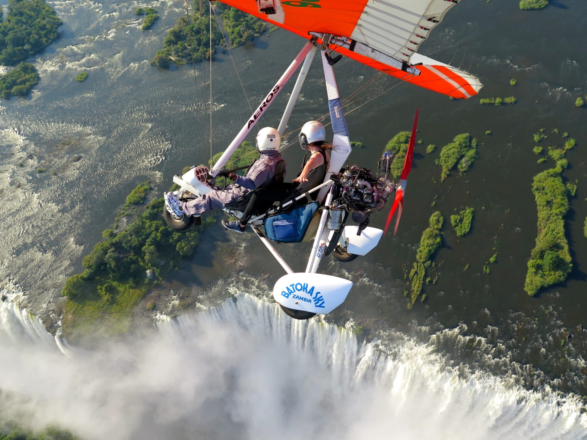 Image result for microlight victoria falls