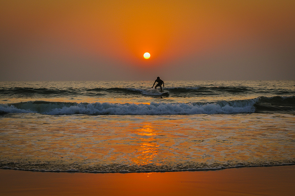 Goa, Sunset