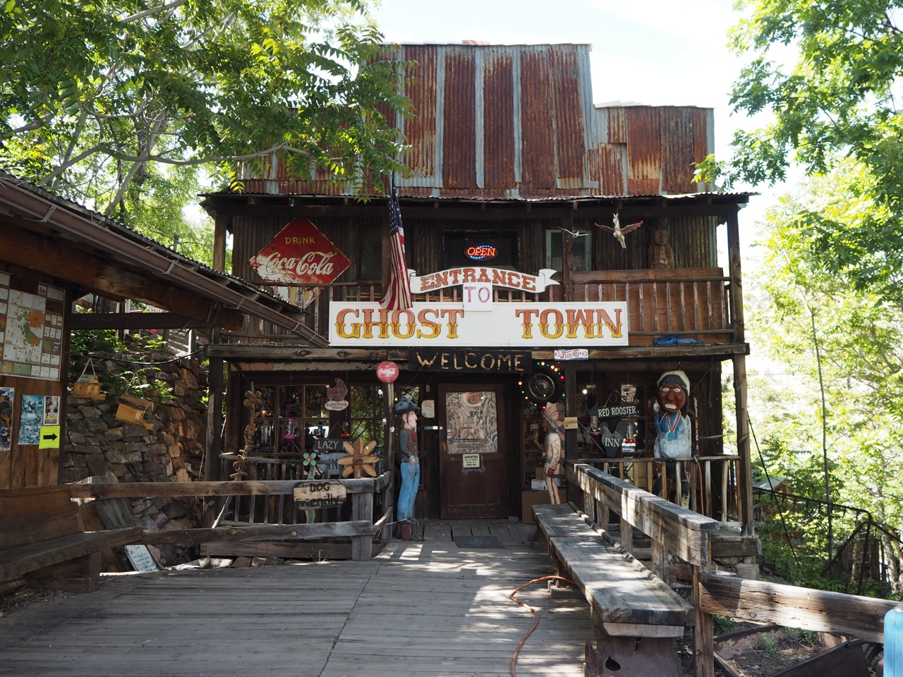 This One Time Visiting A Ghost Town In Jerome World Of