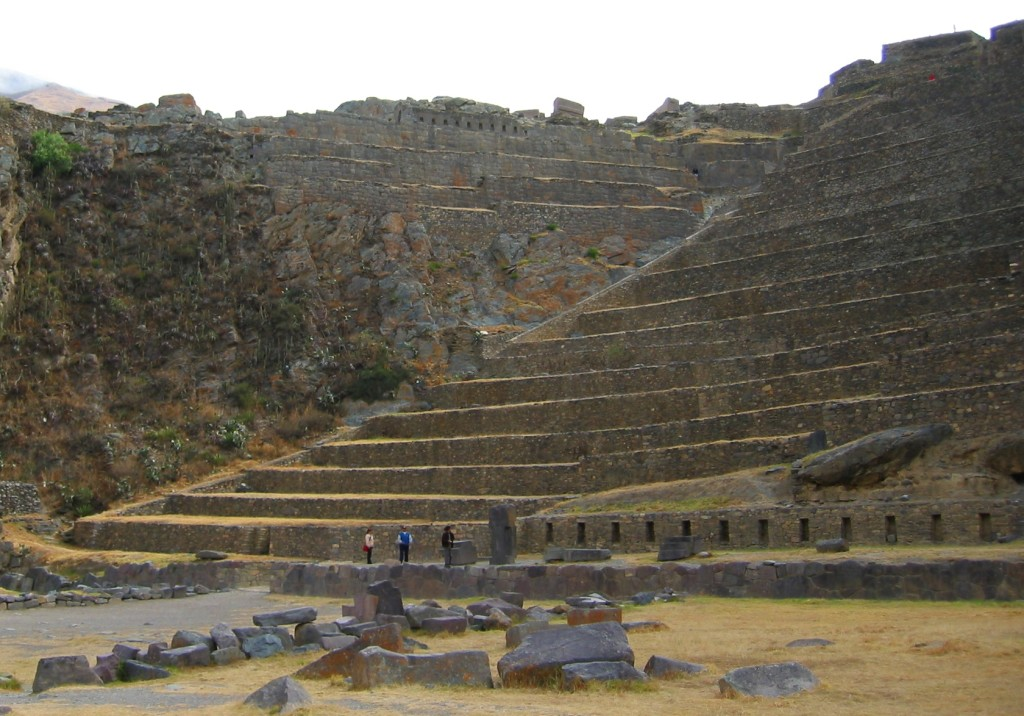 Ollantaytambo_terraces