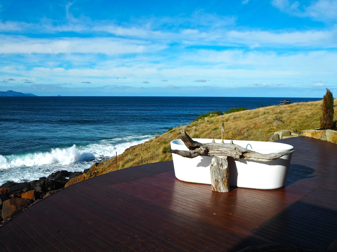 The World\'s Most Scenic Bathtub: Checking in to Thalia Haven on ...