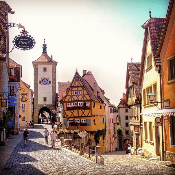 Cutest Towns To Visit In Germany Rothenberg Ob Der Tauber