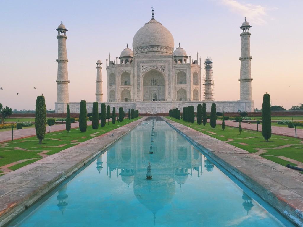 The Taj Mahal Sunrise