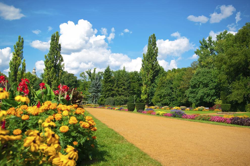 Budapest gardens