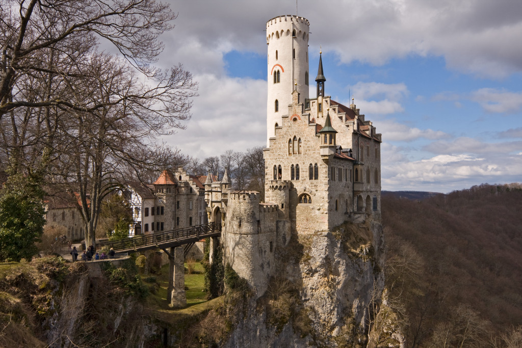 Fairy Tale German Castles, Lichtenstein