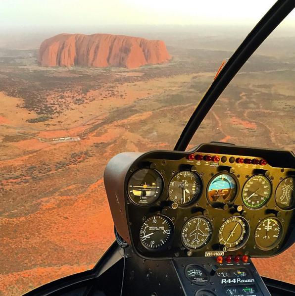 Uluru helicopter