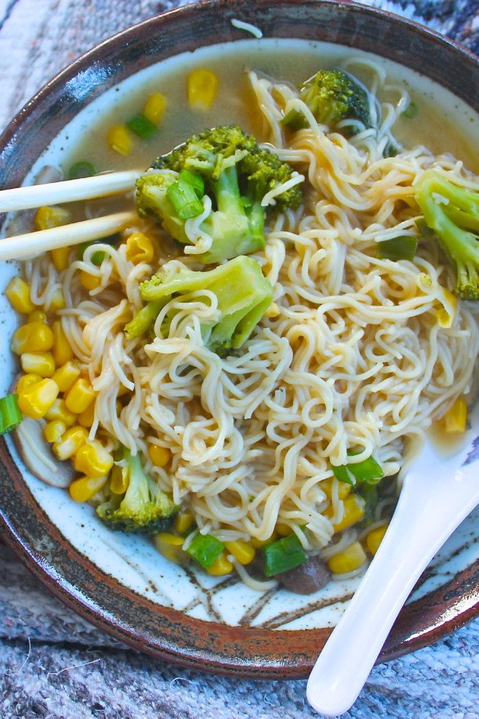 Easy Miso Ramen Soup
