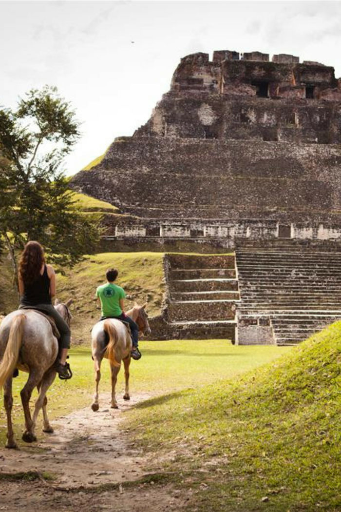 Weekly Wanderlust: Take me Cave Tubing & Horseback Riding through Mayan Ruins!