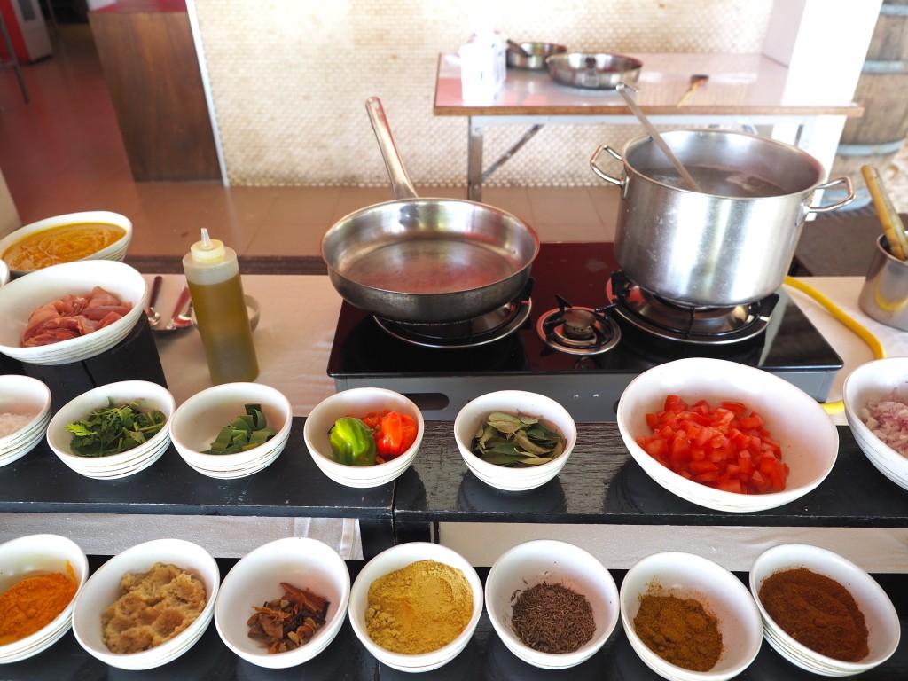 Jumeirah Vittavelli cooking class