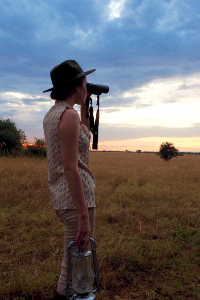 Glamping in Tanzania