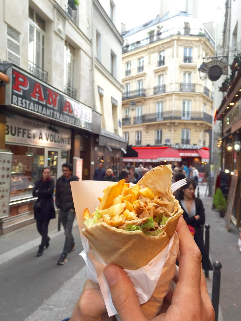 Cheap Food Latin Quarter Paris