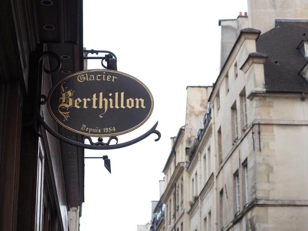 Berthillon Ice cream | What I ate in Paris