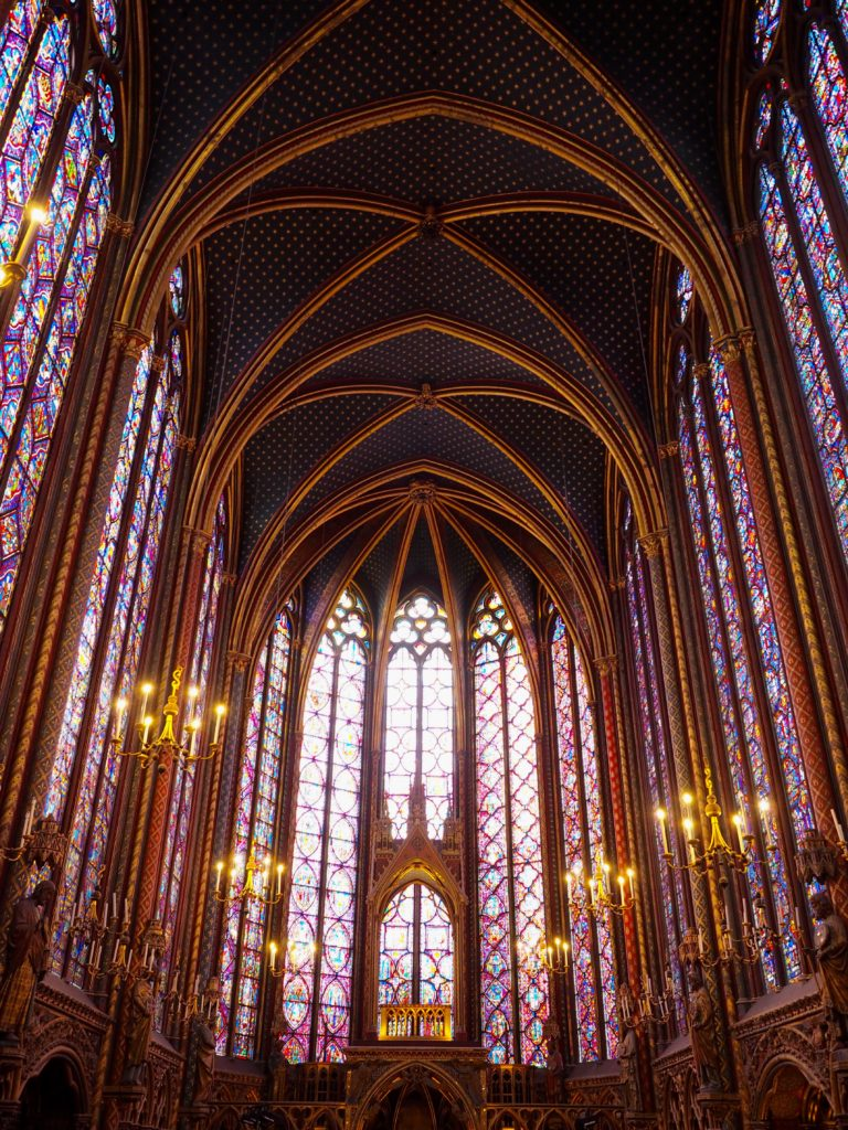 Saint Chapelle interior