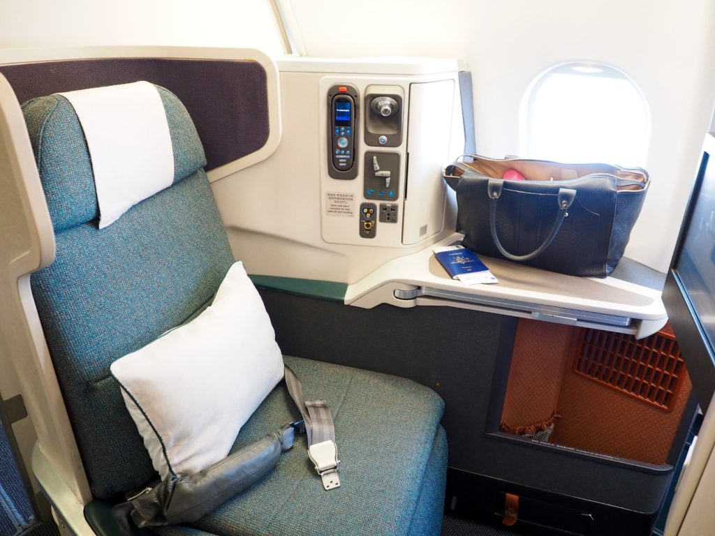 Cathay Pacific Business Class Review | World of Wanderlust