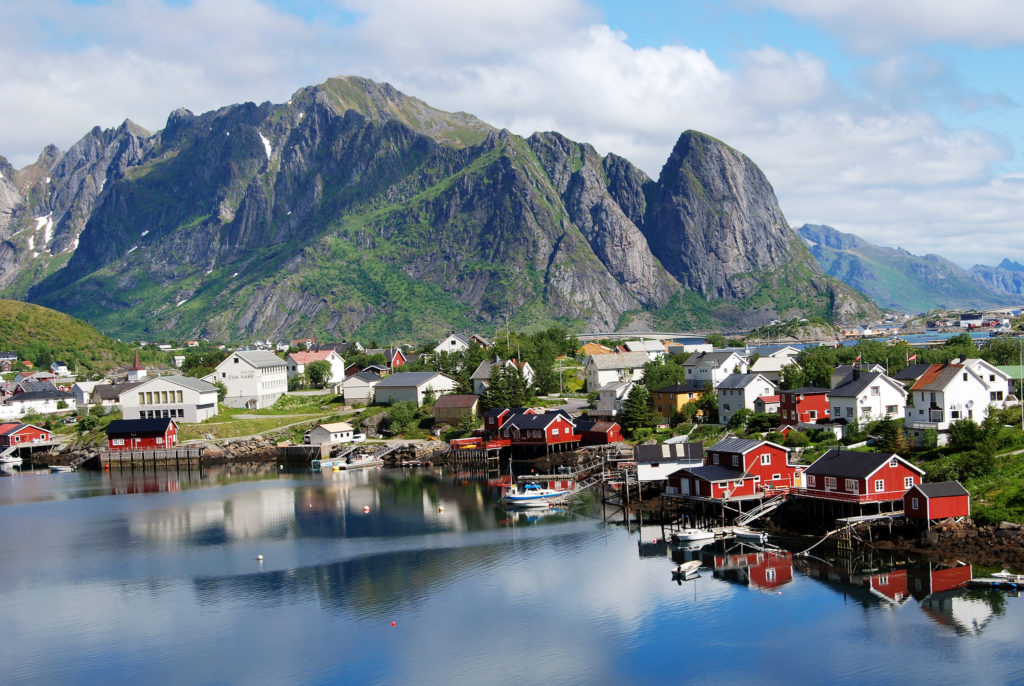 Reine Norway by Harvey Barrison