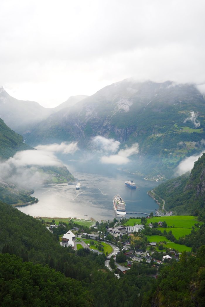 My First Time in Norway: Cruising the Norwegian Fjords!