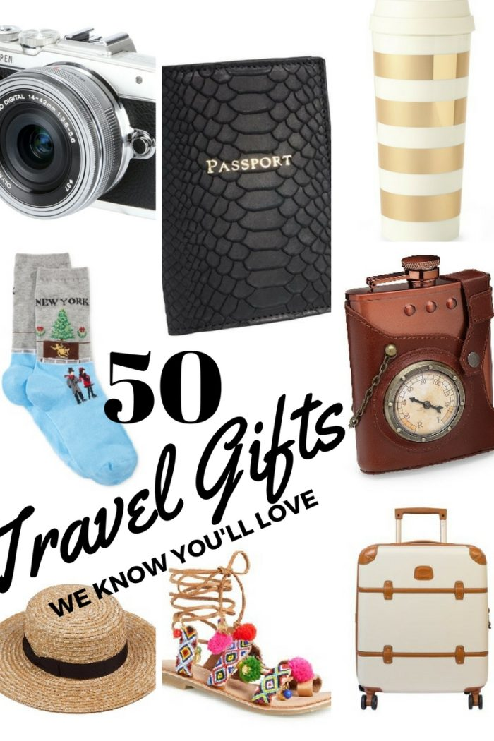 50 Gifts for Travellers this Christmas