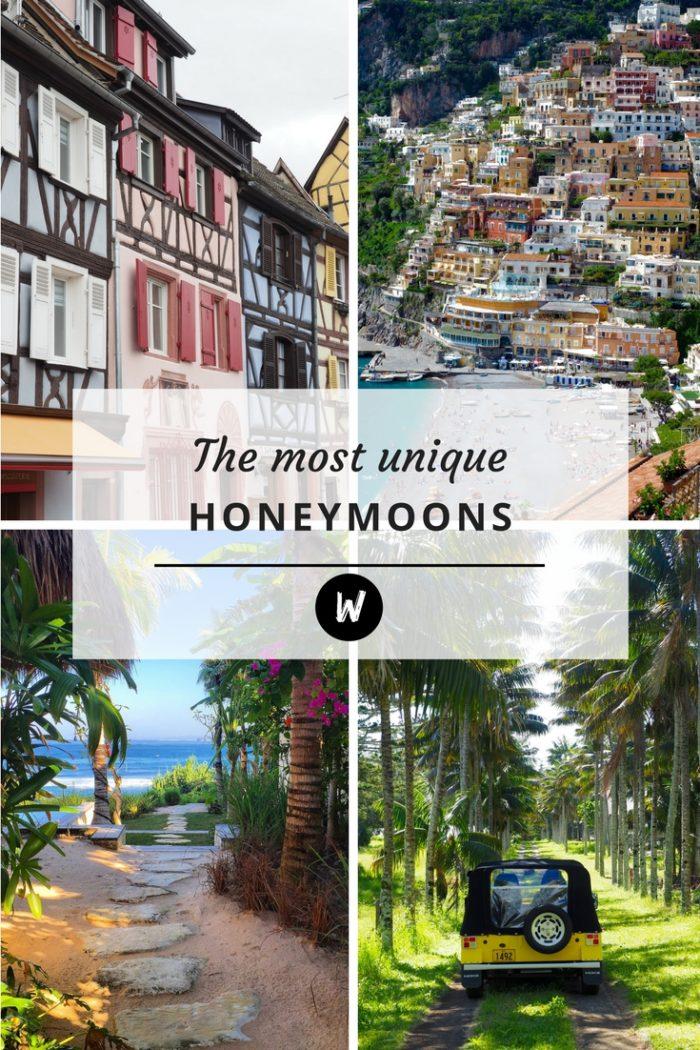 The 25 Most Unique Honeymoon Spots Around the World