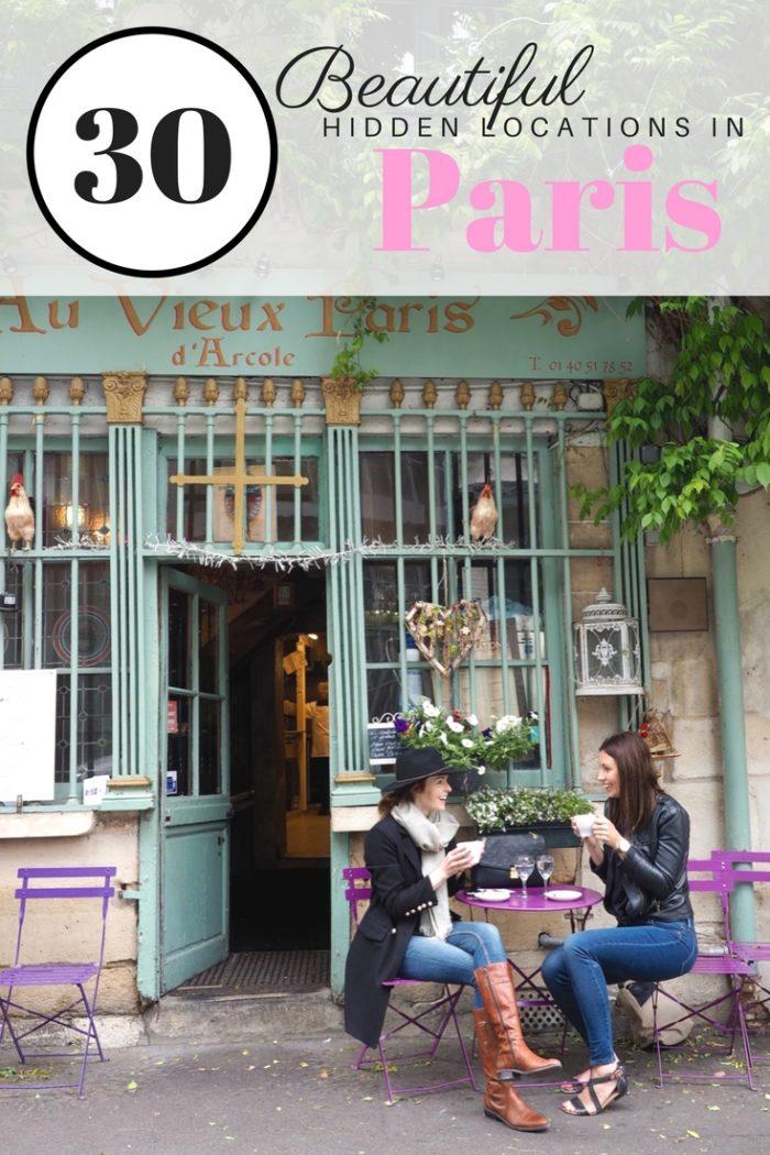 30 Beautiful Hidden Locations in Paris