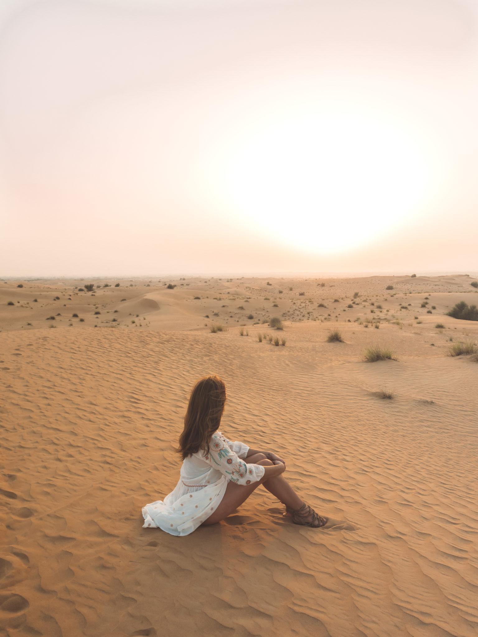Desert Safari in Dubai | WORLD OF WANDERLUST