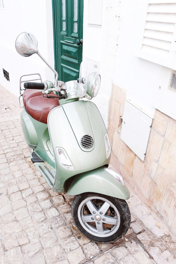 Exploring the French Riviera by Vespa