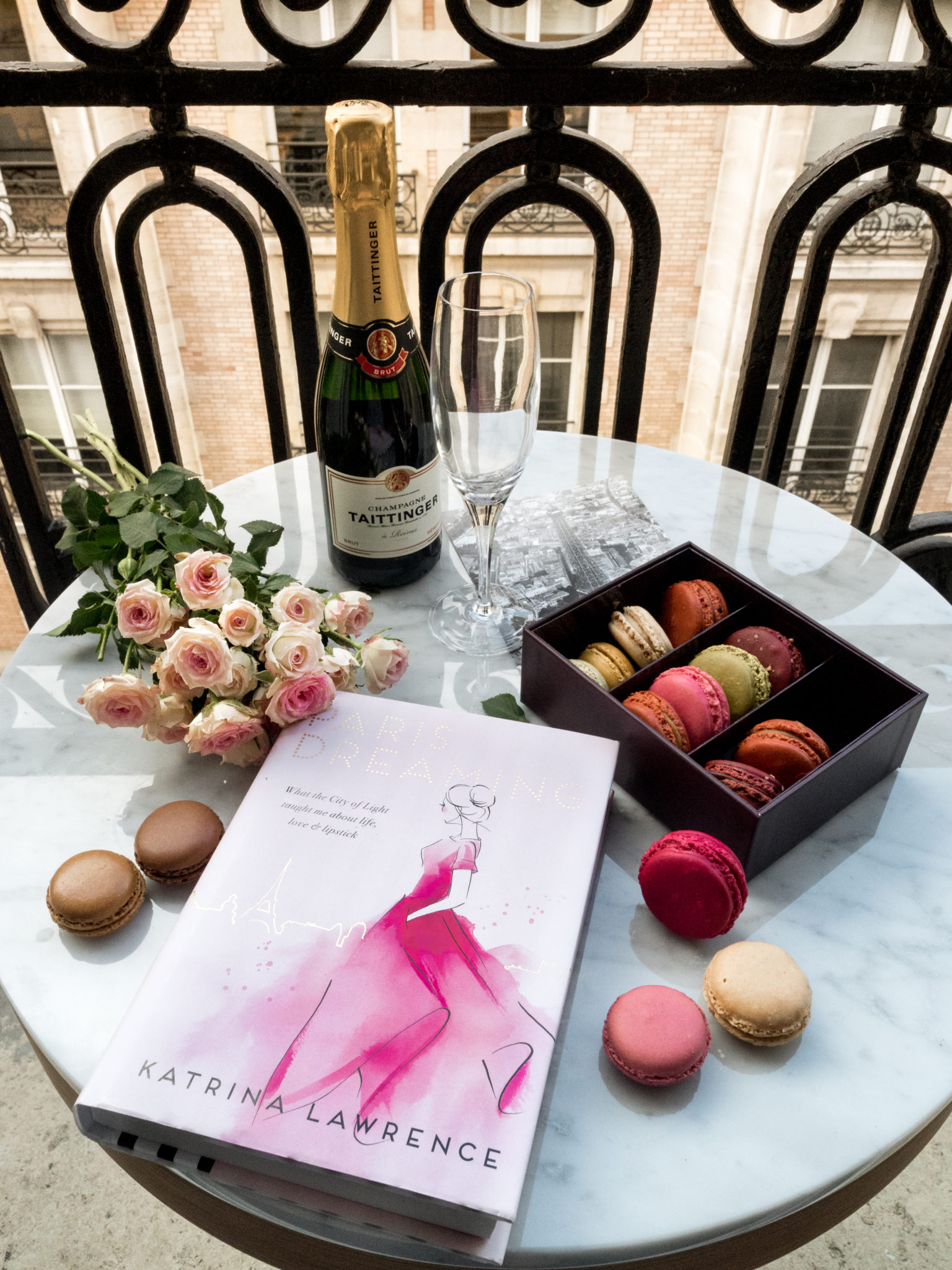 Paris Giveaway: We're giving away FIVE copies of the latest Paris Memoir and YSL Lipsticks!