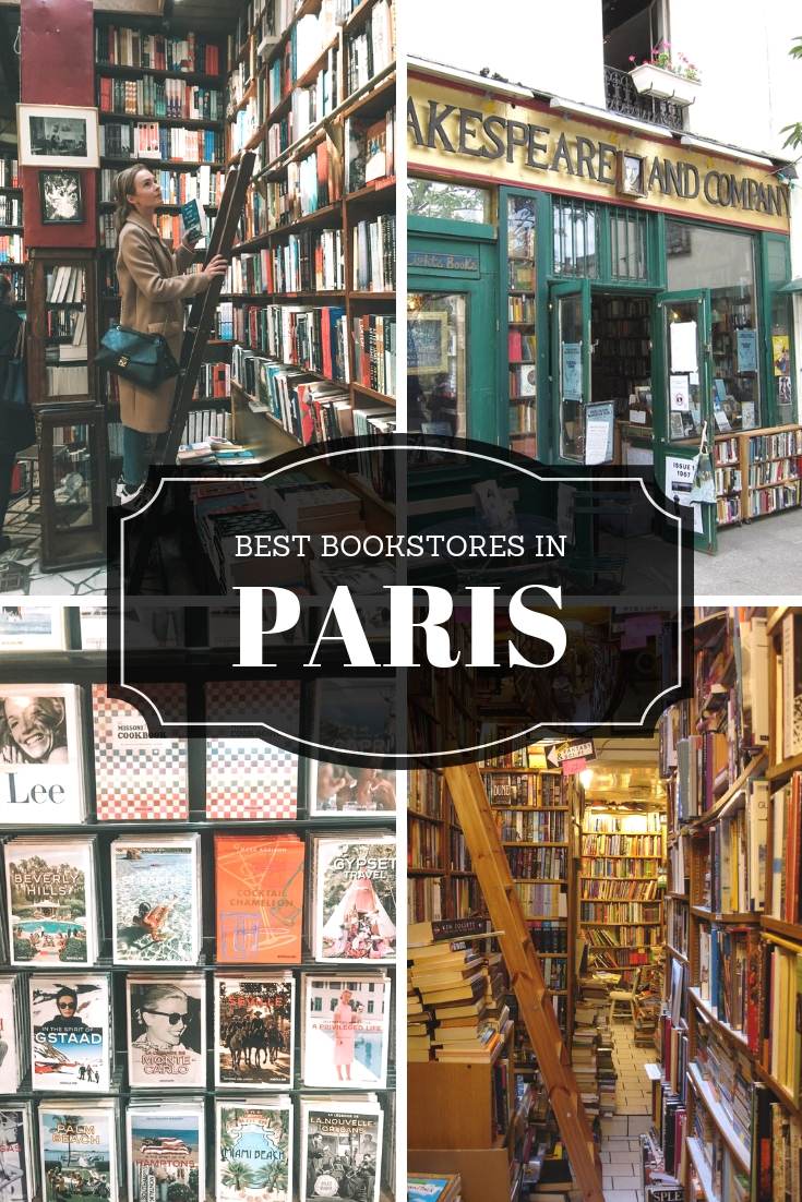 Paris Best Bookstores | WORLD OF WANDERLUST
