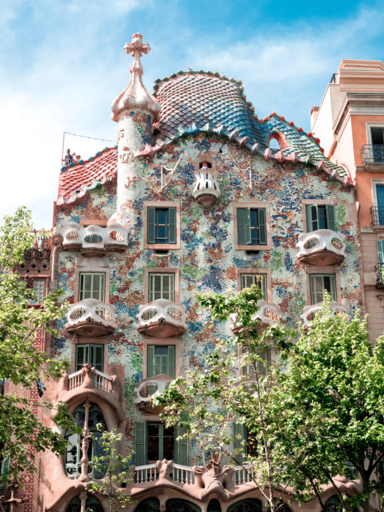 Gaudi Architecture in Barcelona Spain | WORLD OF WANDERLUST
