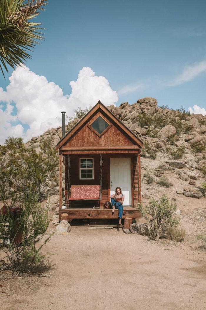 A Tiny Cabin In Joshua Tree