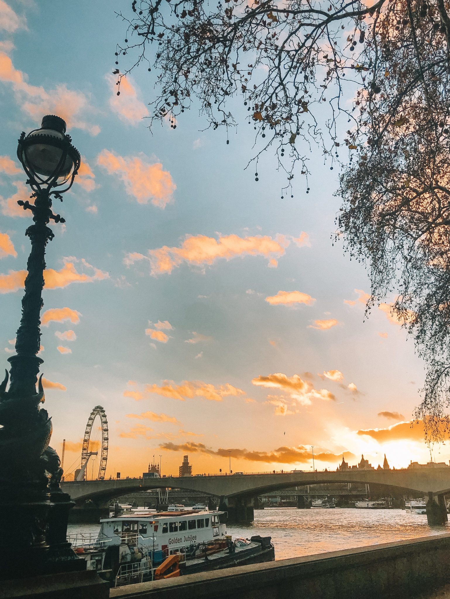 London River Thames | WORLD OF WANDERLUST