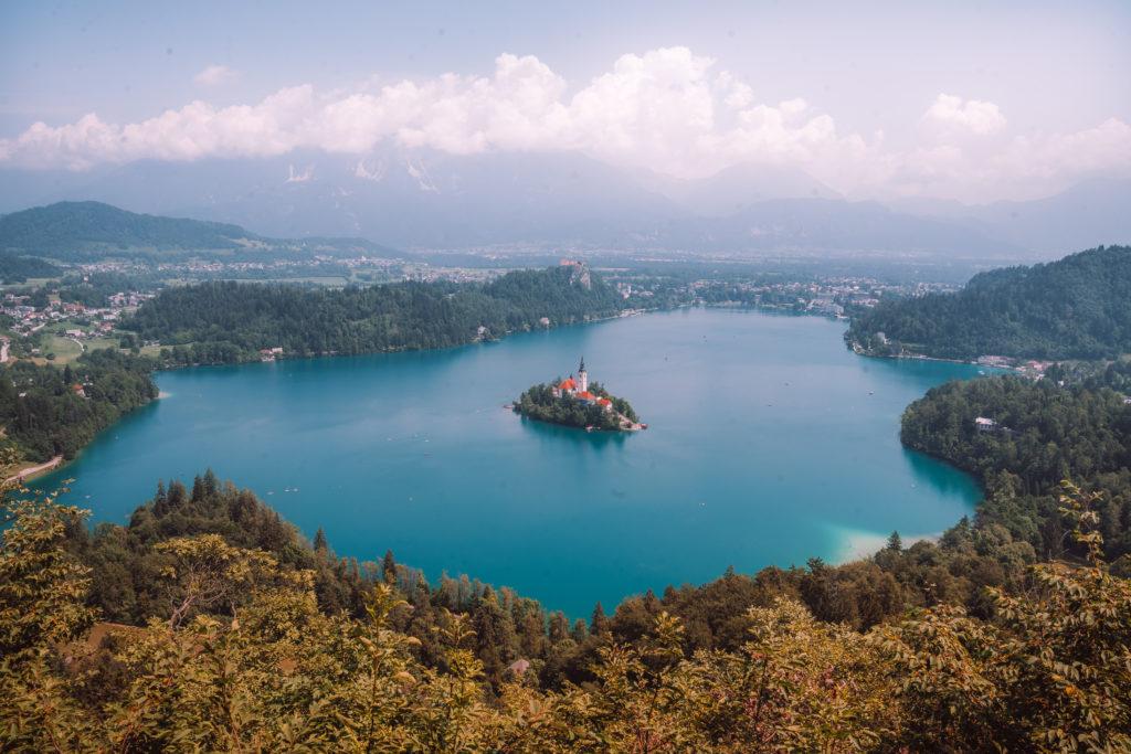 Lac de Bled en Slovénie | MONDE DE WANDERLUST