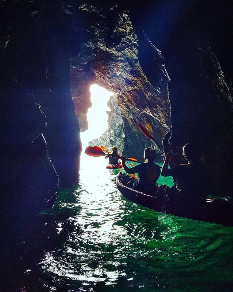 Sea Cave Kayak Wexford