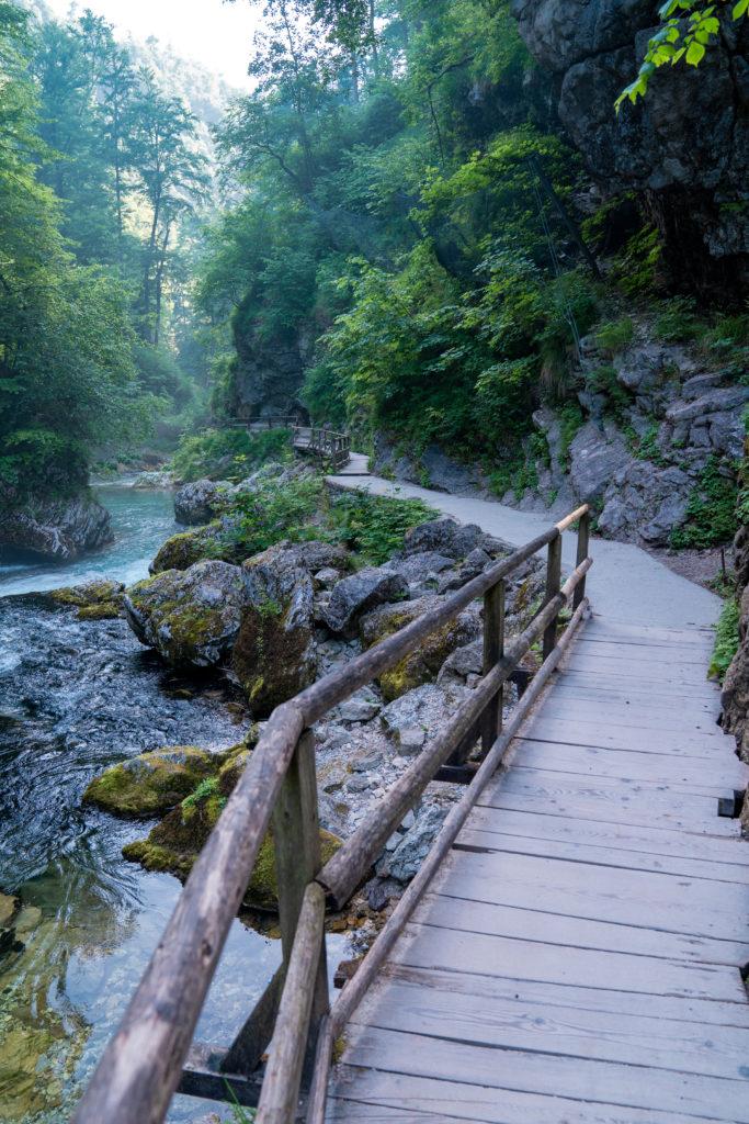 Vintgar Gorge Slovénie | Monde de Wanderlust