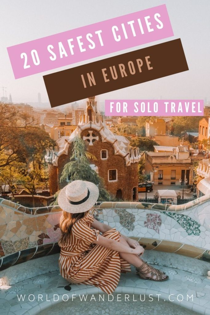 Safest cities for solo travel in Europe   WOW