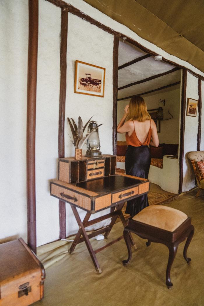 A Vintage Safari Camp in East Africa: Cottars Kenya