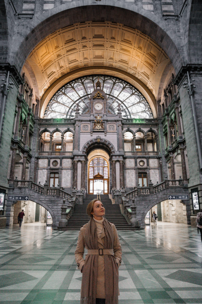 Antwerp train station | World of Wanderlust