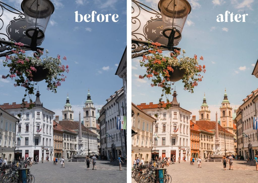 Travel photo presets by World of Wanderlust