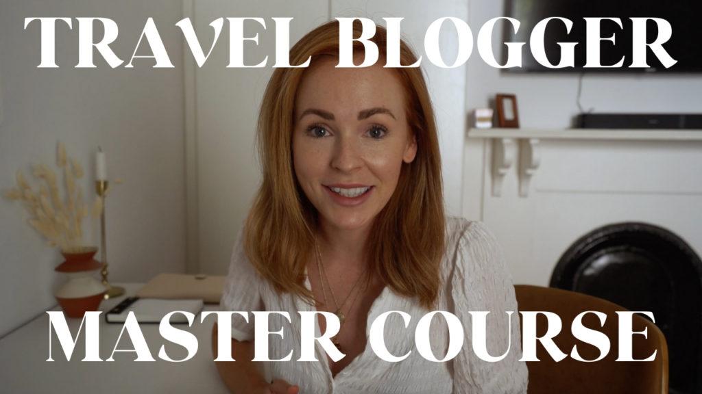 Cours de Master Blogger Voyage