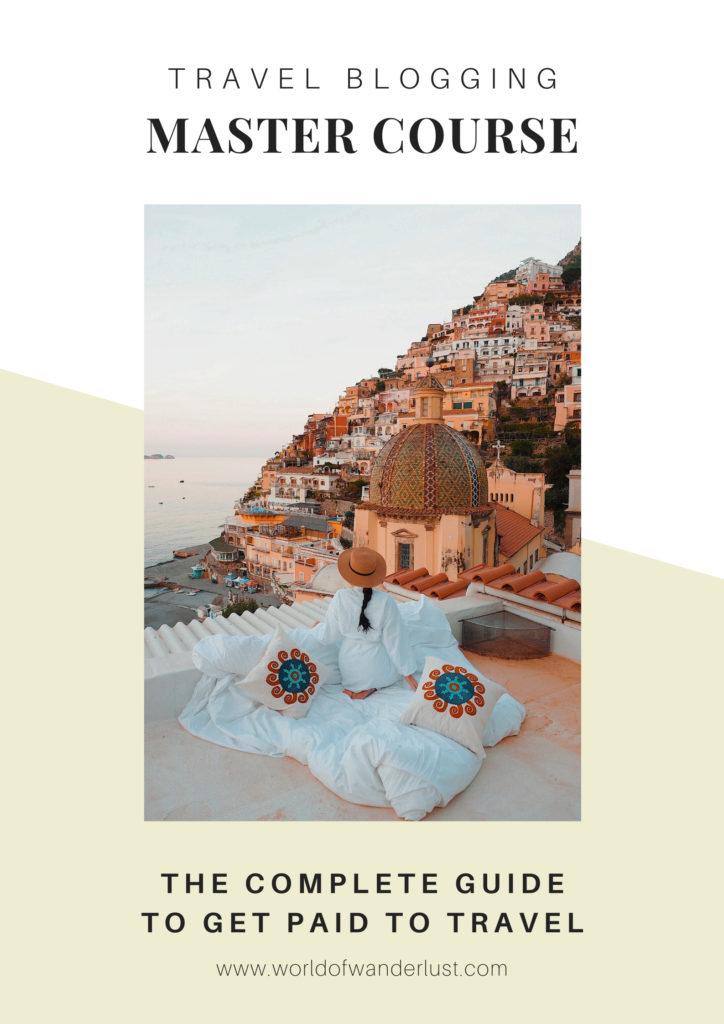 Cours en ligne de blogs de voyage